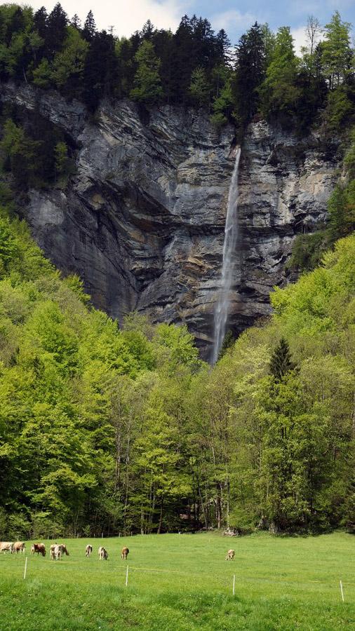 Vodopád Švajčiarsko