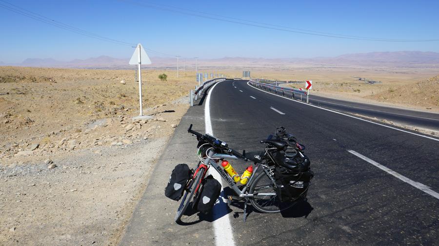 Irán na bicykli