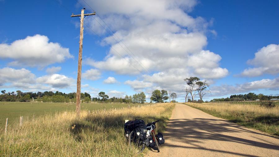 Austrália bicykel