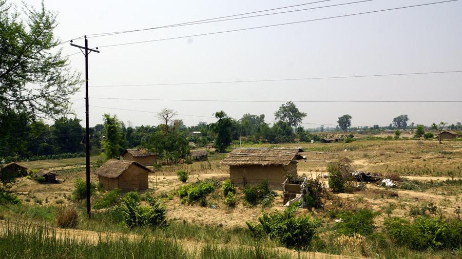 Dom v stráni Nepál
