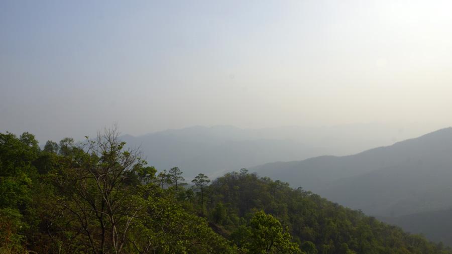 Smog nad údolím