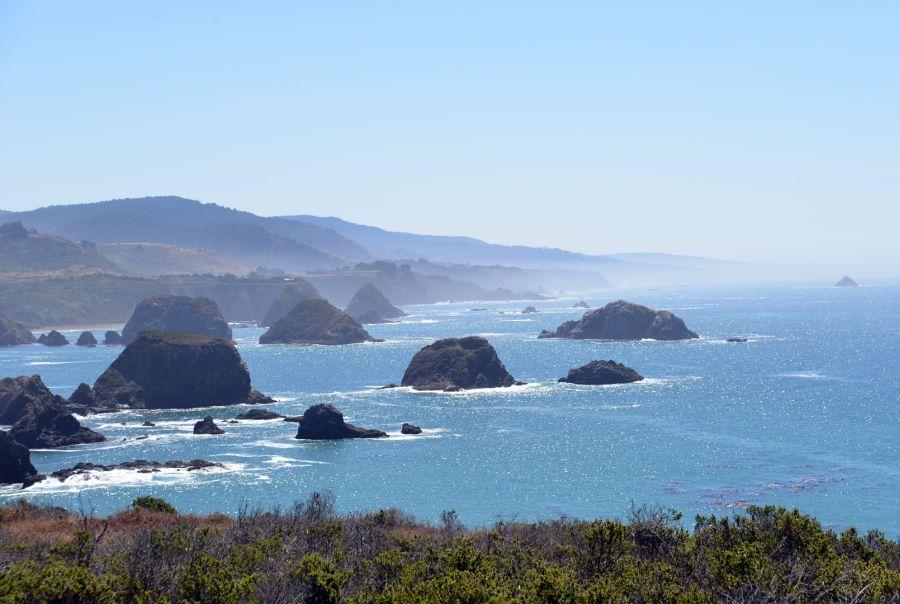 Západné pobrežie Kalifornia