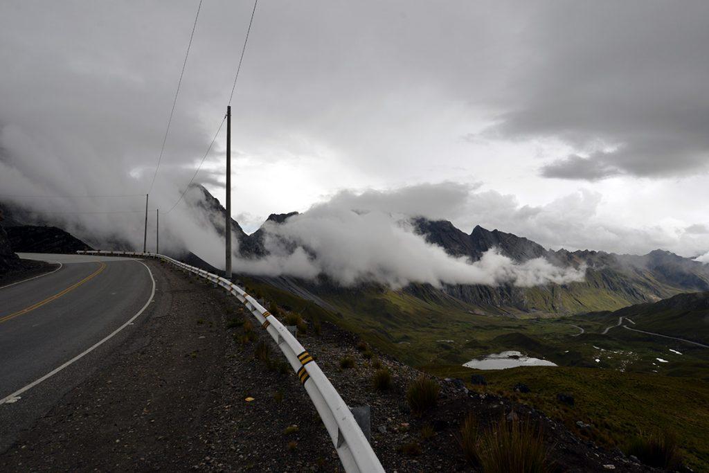 Cordillera Blanca výhľad