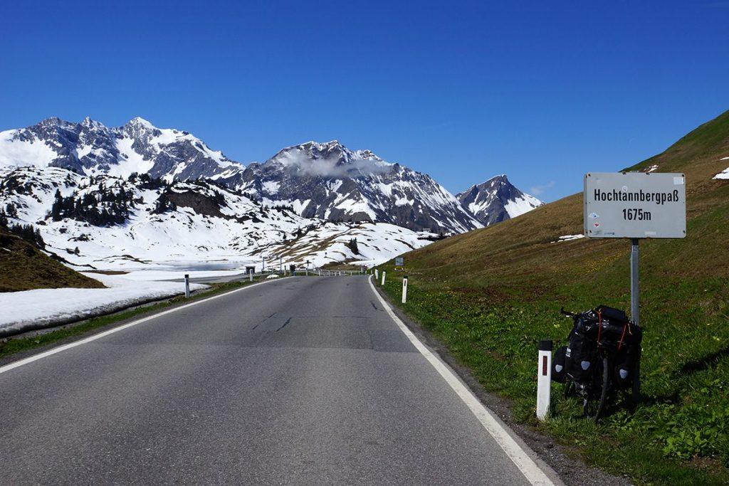 Hochtannberg Pass horské sedlo