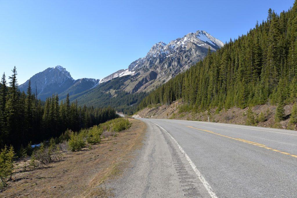 Krásne výhľady Kanaskis Trail